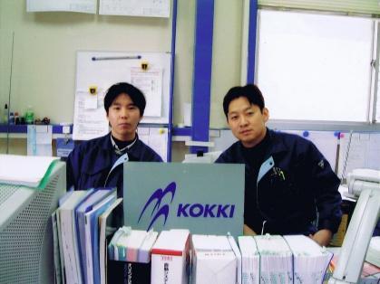 創業して初めて採用した社員。今もエンジニアとして活躍している