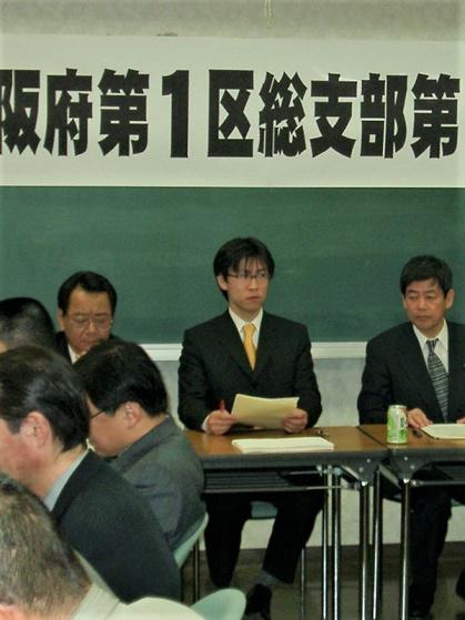 写真中央が熊田氏