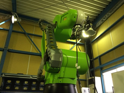 開発中の協働型ロボット