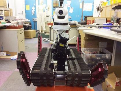 災害レスキューロボット