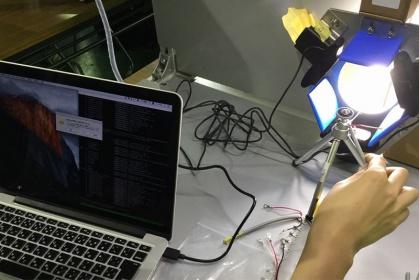 AIを搭載したロボットの開発